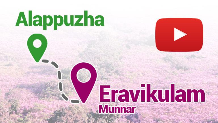 How to Reach Eravikulam from Alappuzha?