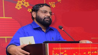 Press Meet by Tourism Minister to announce the Nishagandhi Puraskaram