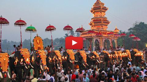 Arattupuzha Pooram Videos