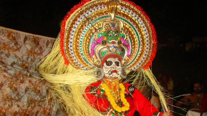 Mudiyettu - a ritual art performed in Kaali temples of Central Kerala