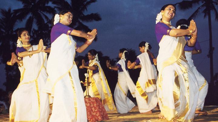 Thiruvathirakali - a dance performed by women