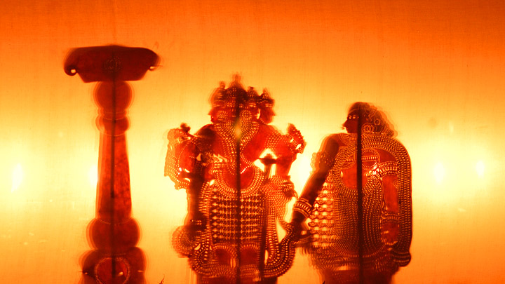 Tholppavakkoothu - the shadow puppetry of Kerala