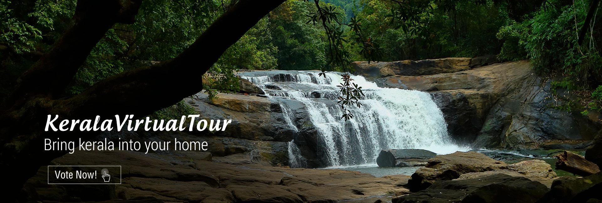 Kerala Virtual Tour - Waterfalls