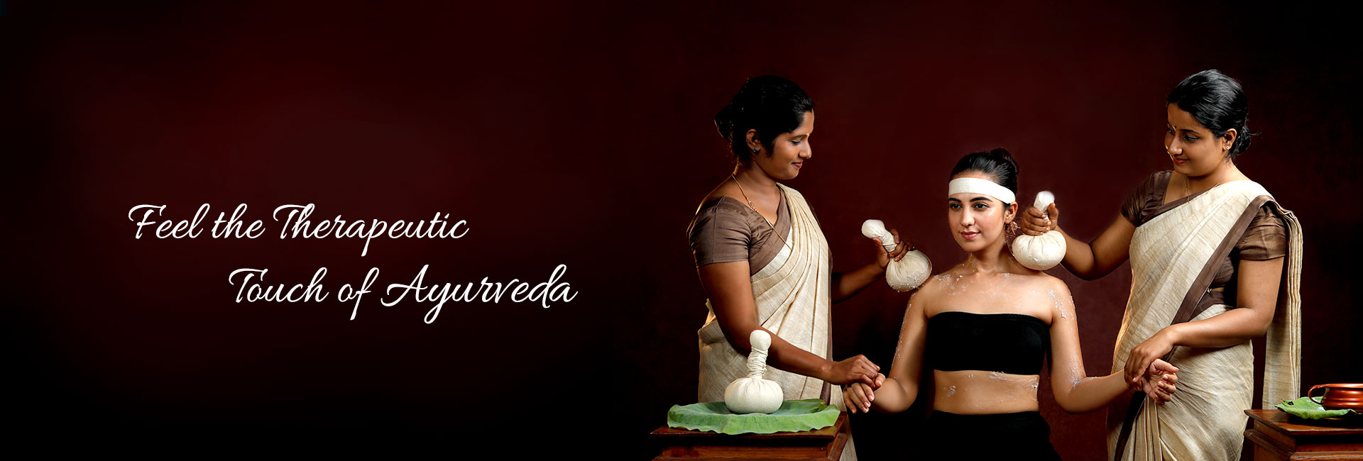 Feel the Therapeutic Touch of Ayurveda