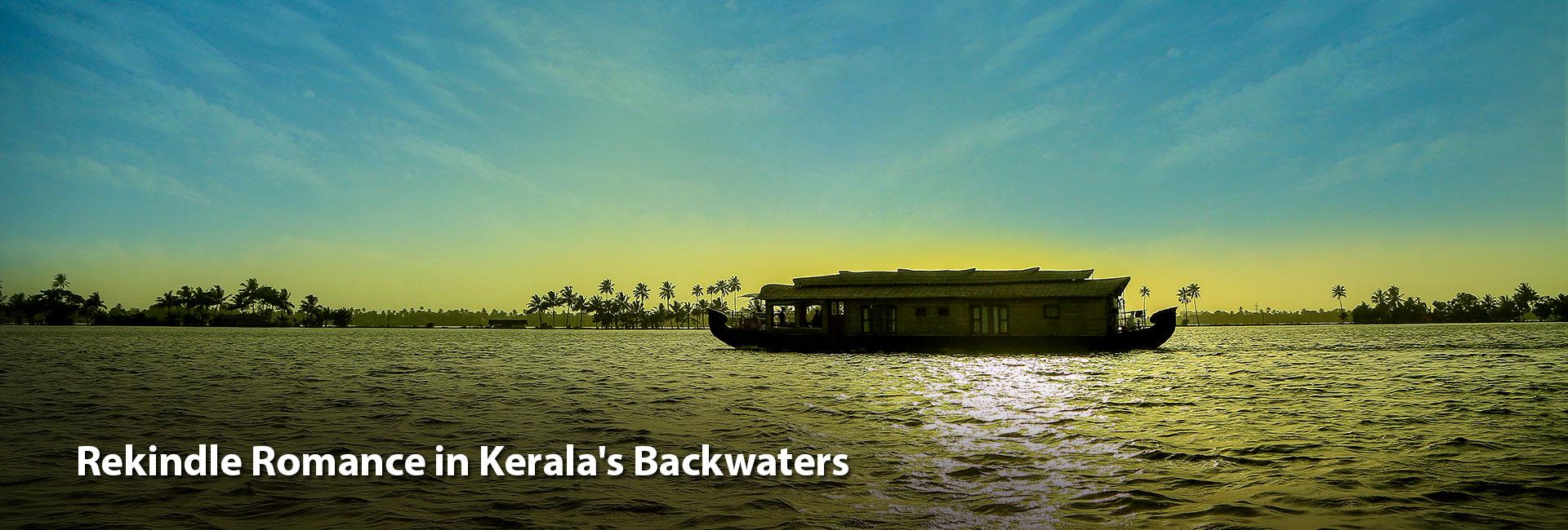 Rekindle Romance in Kerala's Backwaters
