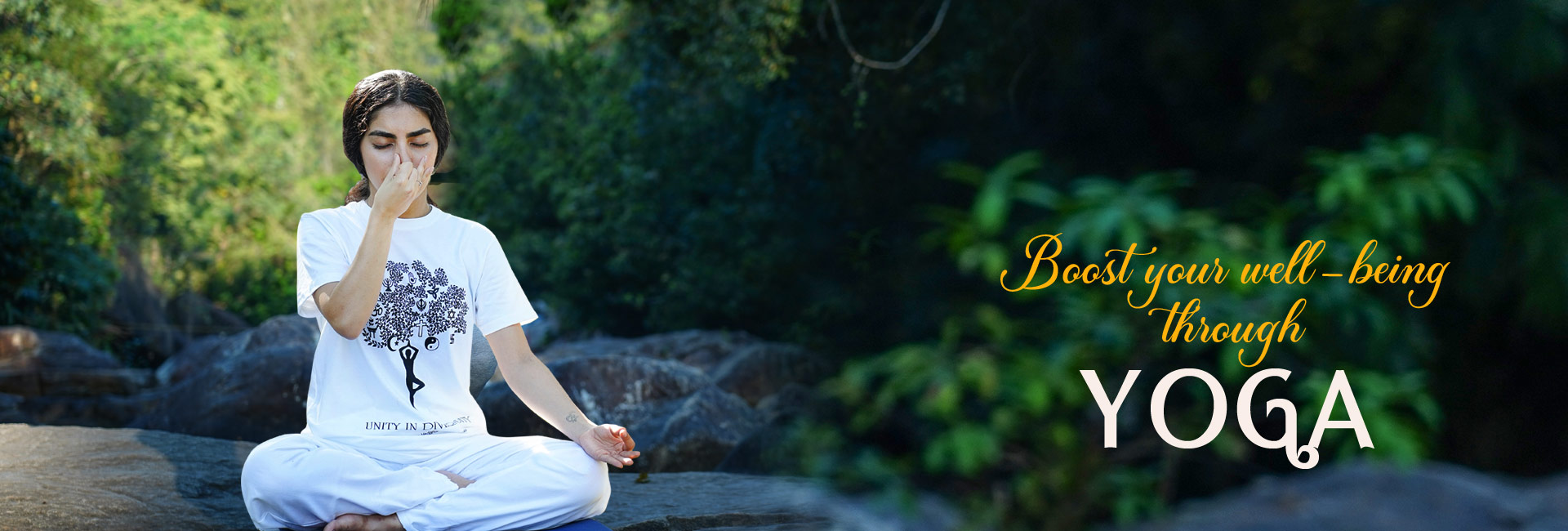 Boost your well-being through Yoga