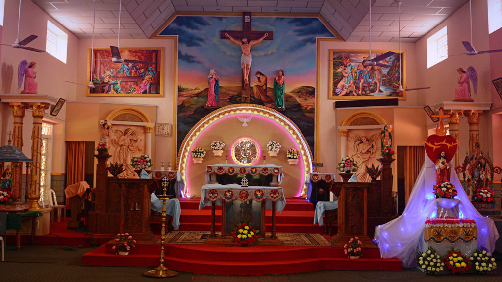 Murals and Sculptures of Churches