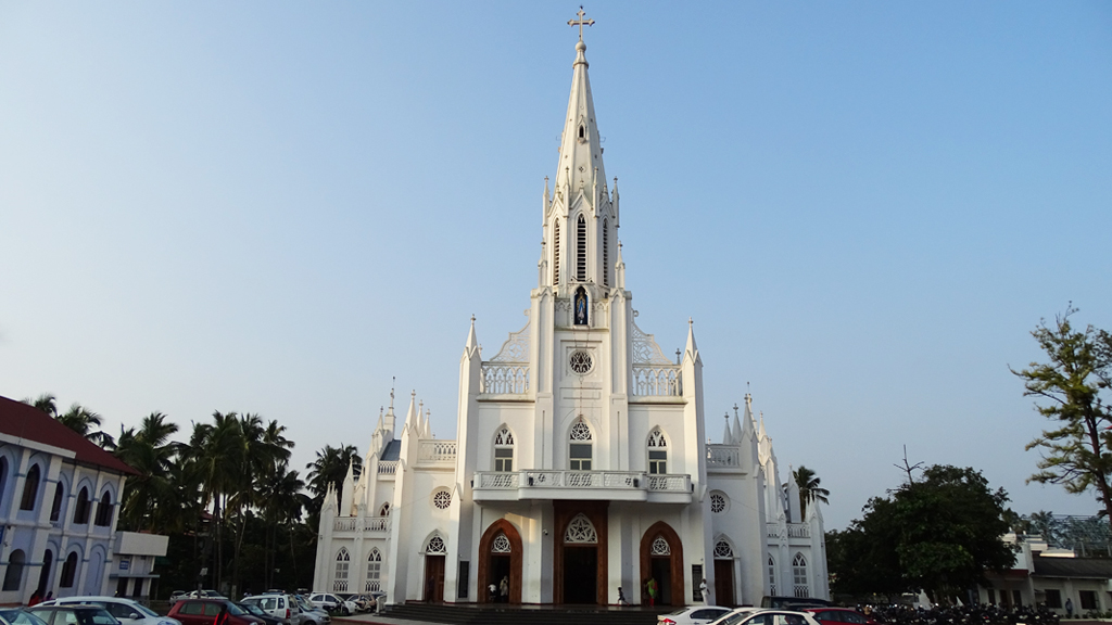 Our Lady of Lourdes Cathedral | Mural Paintings in Kerala