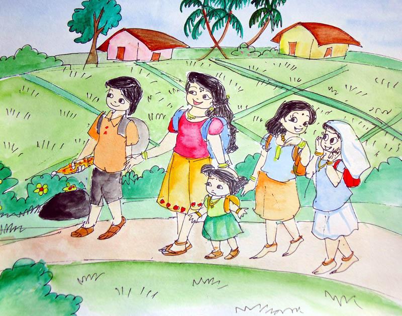 Painting by AISWARYA LAKSHMI S.