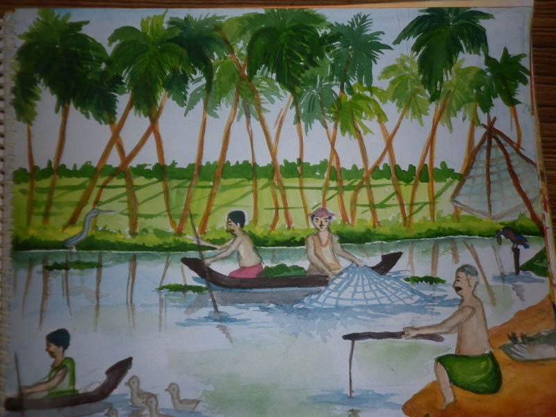 Painting by AKSHARA R A