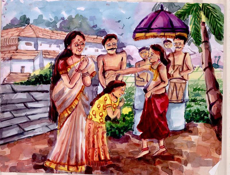 Painting by AKSHAYA UNNIKRISHNAN