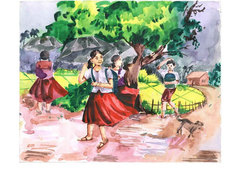 Painting by ANANNYENDU