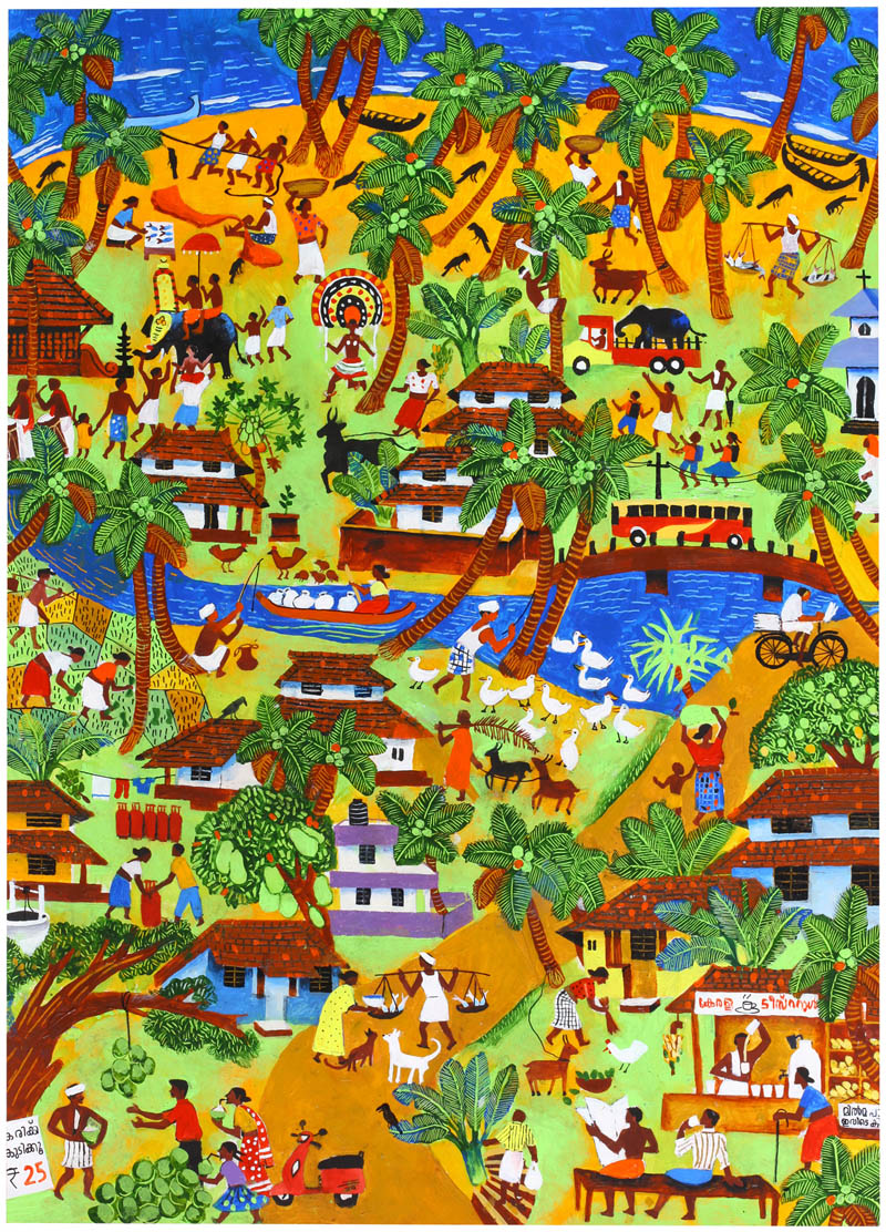 Painting by Anujath Sindhu Vinaylal