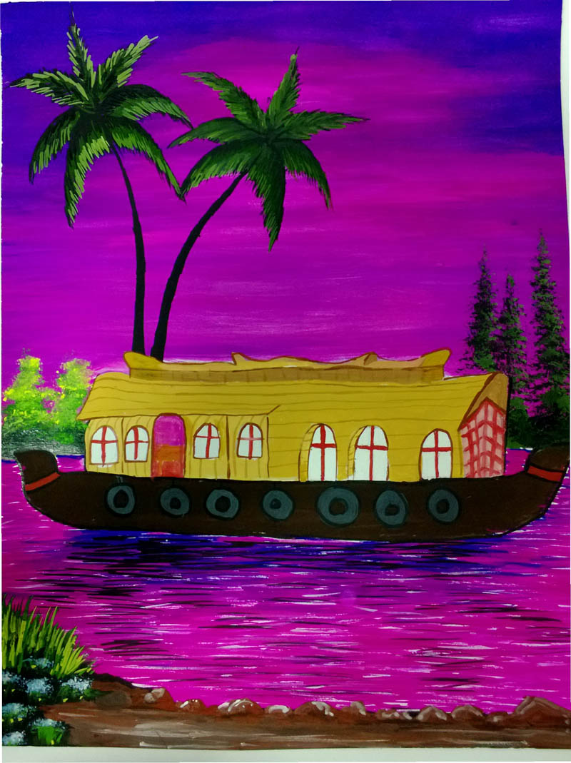 Painting by INMOZHI T. I.