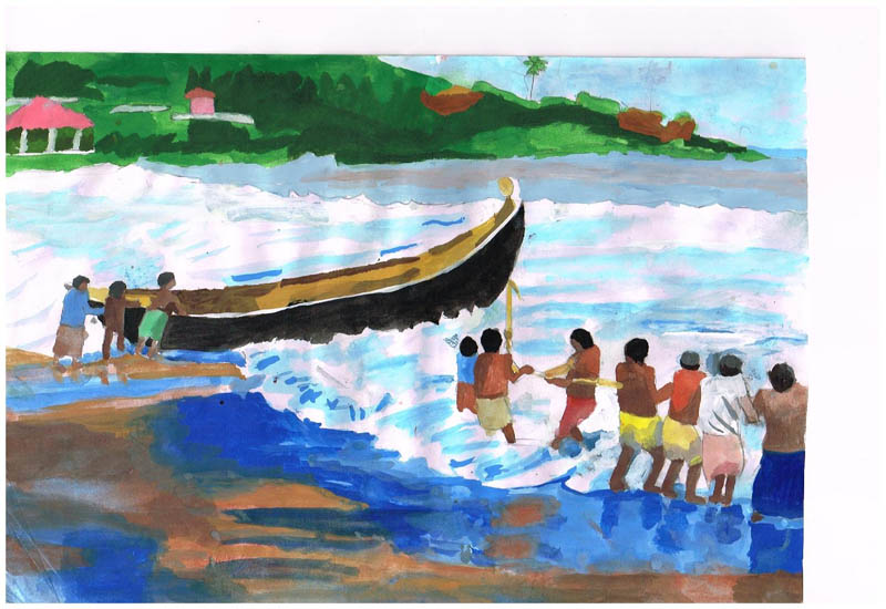 Painting by IRTIZA  ANIKA HAQE PROBONTI