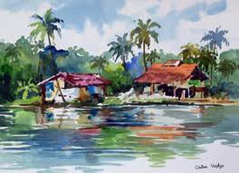 Painting by k. mahesh singh