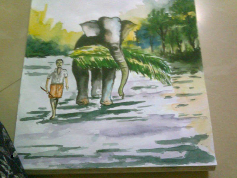 Painting by Kavya S Nath