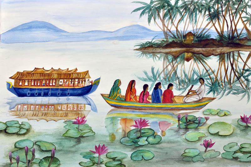Painting by LAKSHMI GAYATRI P