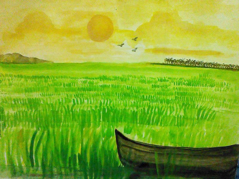 Painting by Meenakshi Nair J