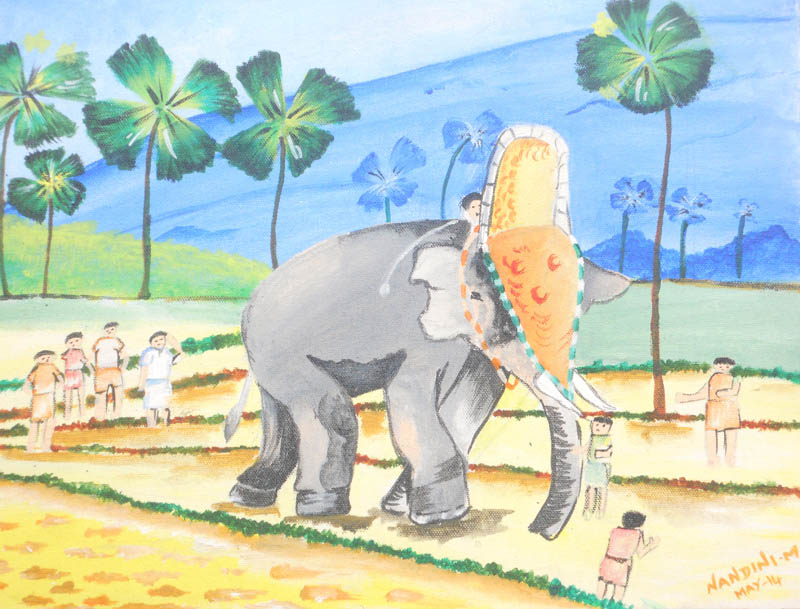 Painting by Nandini Murali Krishna