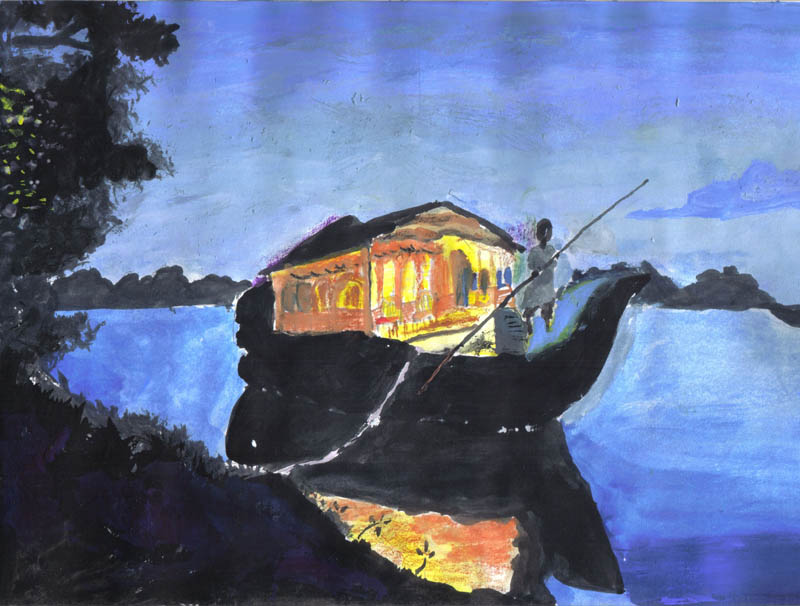 Painting by P. Srinithi