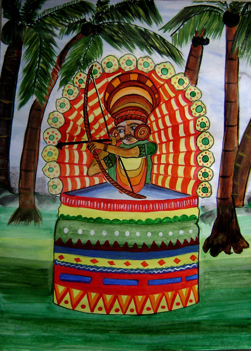 Painting by POULOMI GHOSH ROY