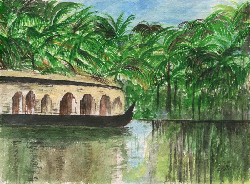 Painting by PRANJALI PRASHANT NANDGAONKAR