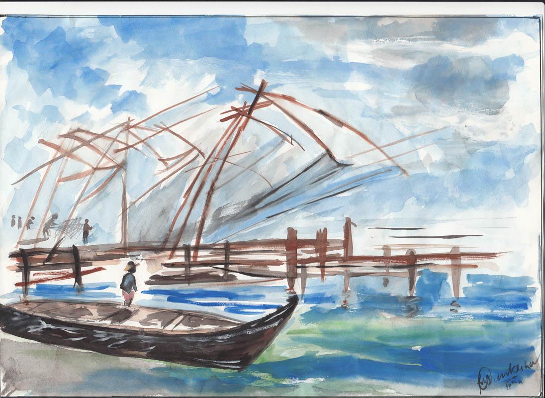 Painting by RISHIKESH C. V.