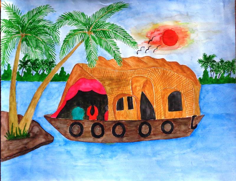 Painting by riya borah