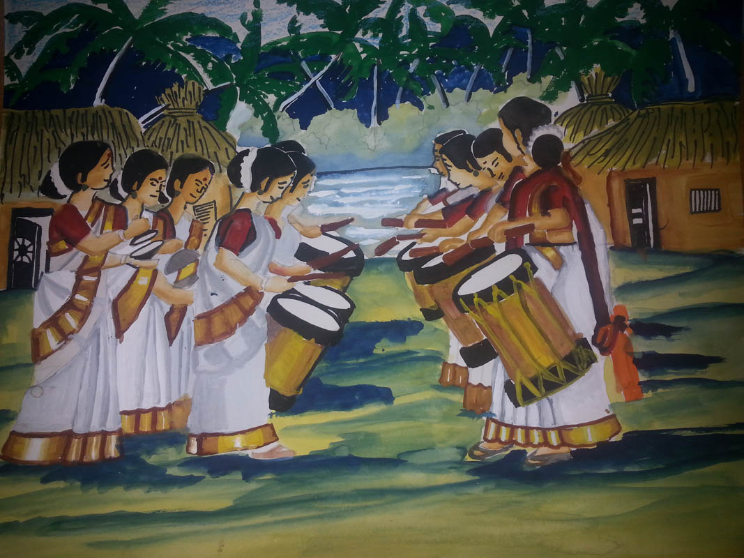 Painting by RUTHVIK SUNIL HARARI