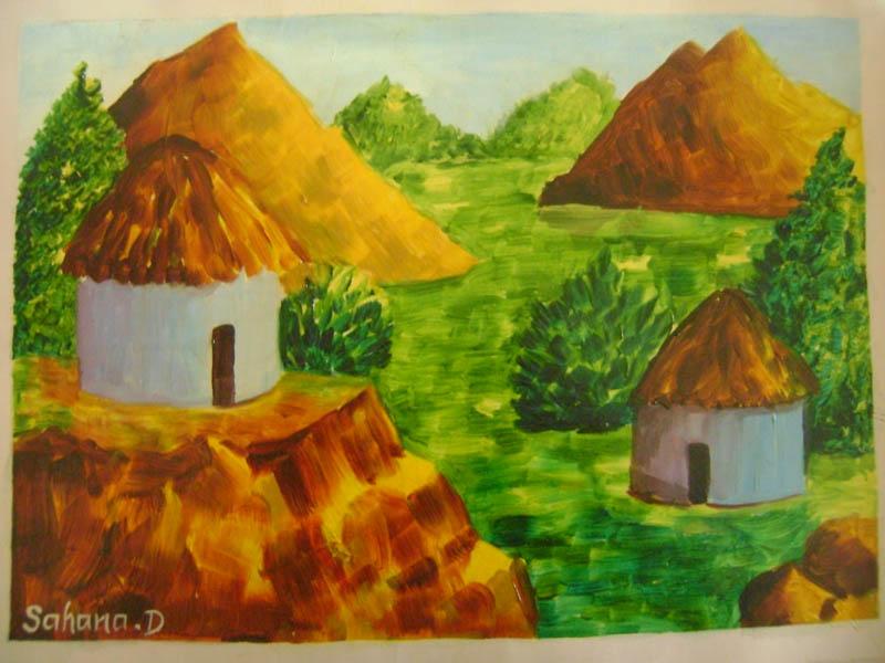 Painting by Sahana D