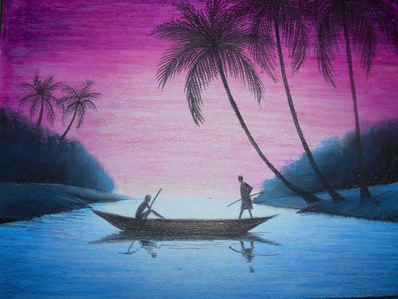 Painting by Samadrita Das