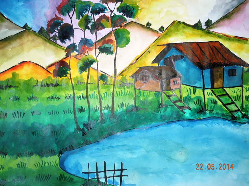 Painting by SAMARPITA  PAUL