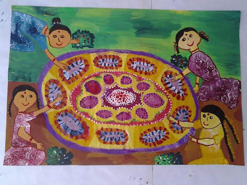 Painting by Savindu Hiranniya Herat