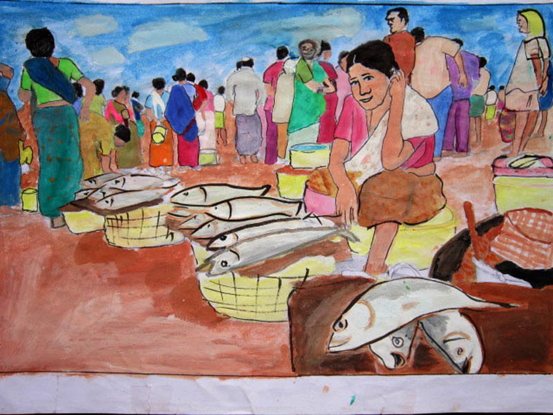 Painting by Upendra E