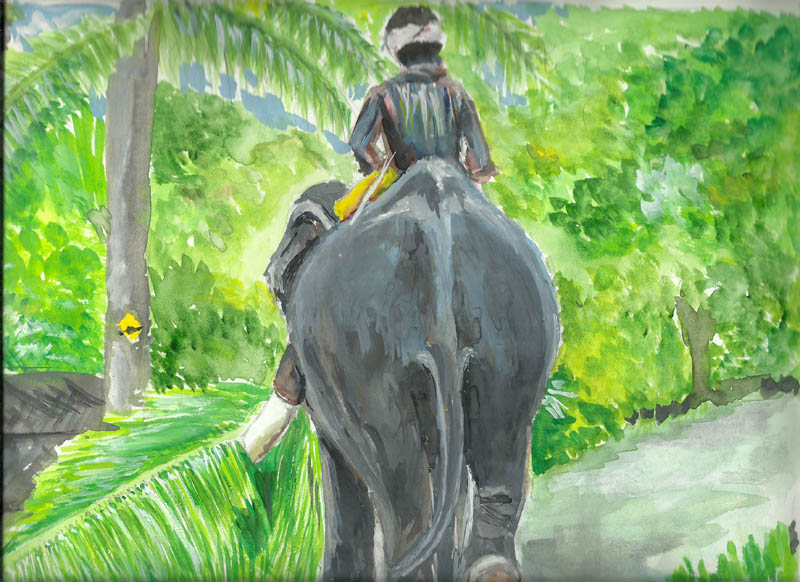Painting by VENKATA SUBRAMANIAN