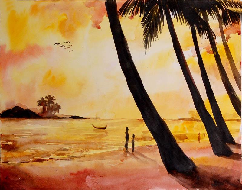 Painting by YAMINI K.