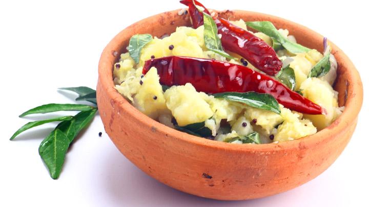 Recipe for Sweet Potato Uppumavu, Madhura Kizhangu Uppumavu