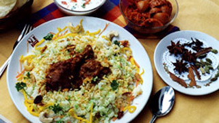 मलबार चिकन बिरियानी
