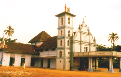 Malayattoor Church Kalady, Ernakulam district, Kerala