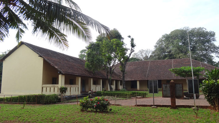 A building inside Thalasssery fort