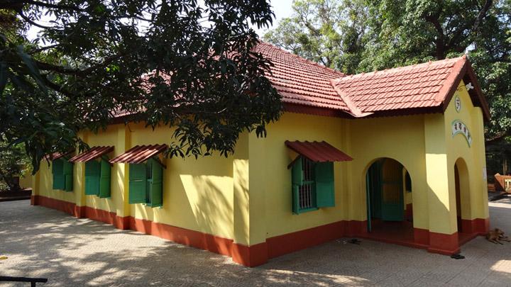 Anandashram at Kanhangad near Bekal, Kasaragod