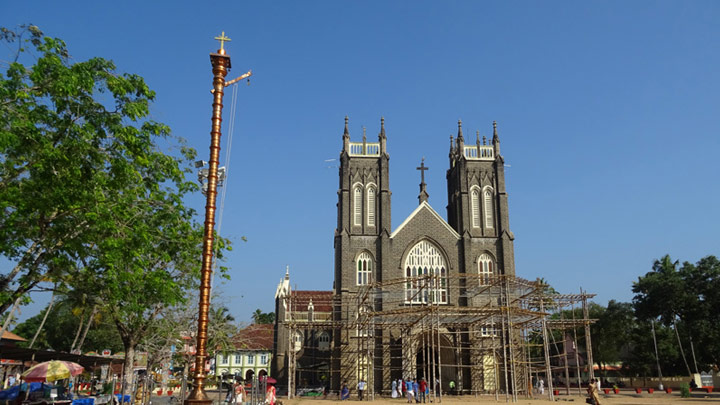 Arthunkal Church - a popular pilgrim centre in Alappuzha, Alleppey