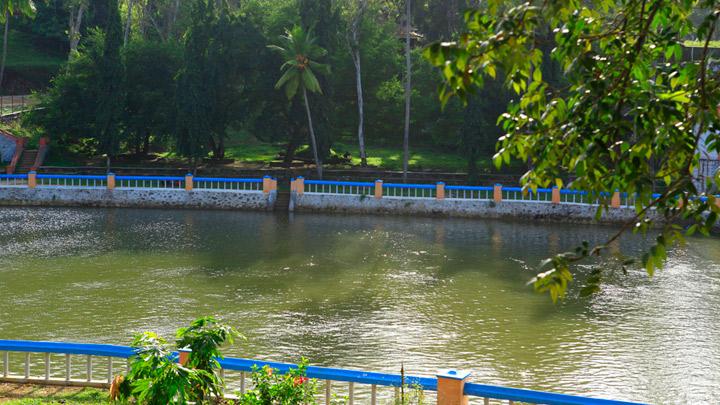 Aruvikkara Dam in Thiruvananthapuram