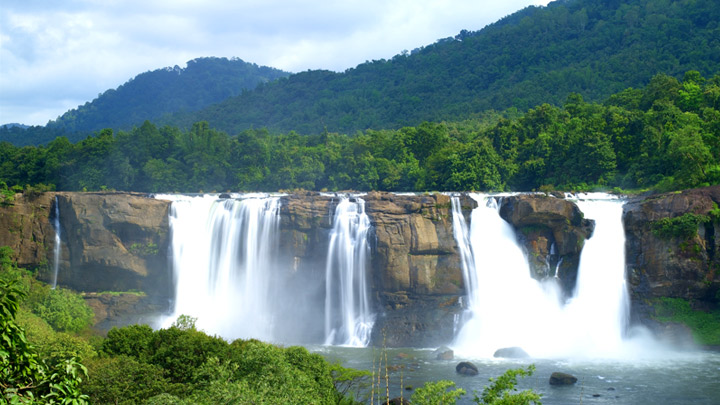 Athirappalli and Vazhachal Waterfalls in Thrissur
