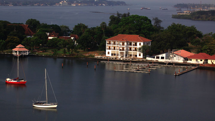 Bolgatty Island in Kochi