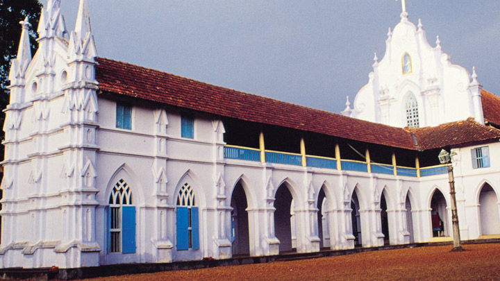 Champakulam Church - situated on the banks of River Pamba, Alappuzha