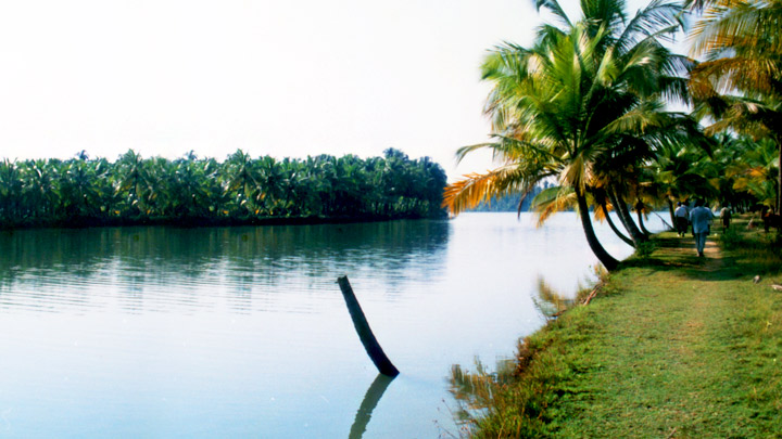 Chithari - a small tropical island and backwaters in Kanhangad, Kasaragod