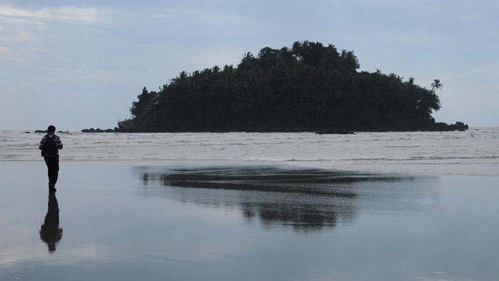 Dharmadam Island at Thalassery, Kannur