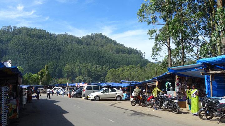 Echo Point in Munnar